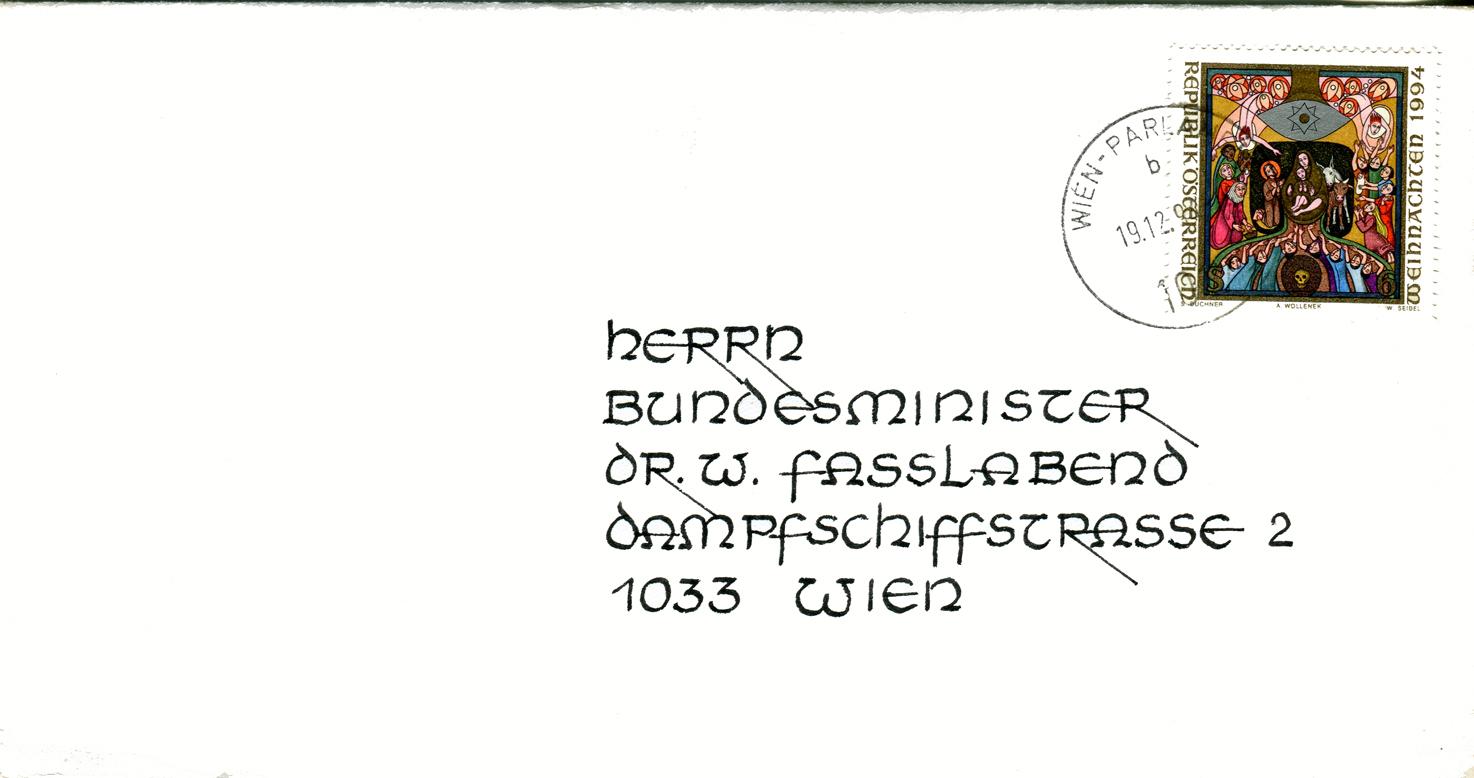 Sammlung Bedarfsbriefe Österreich ab 1945 - Seite 6 Bmlv
